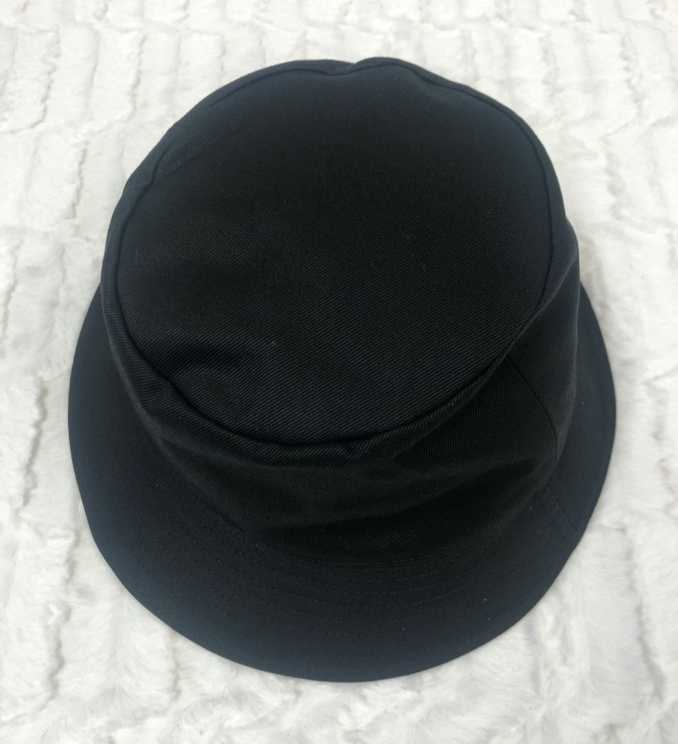 CELINE HOMME Logo-Print Cotton-Twill Bucket Hat Black 560971903940394